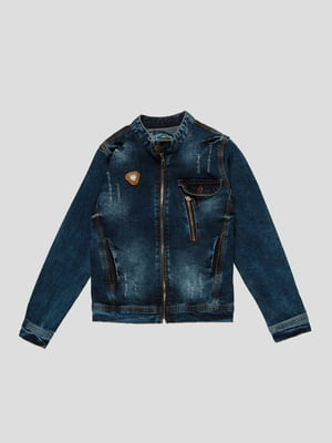 Куртка синя | 4988369