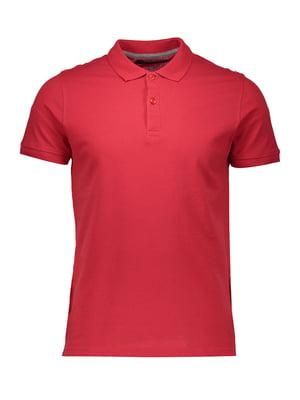 Футболка-поло червона | 4958690