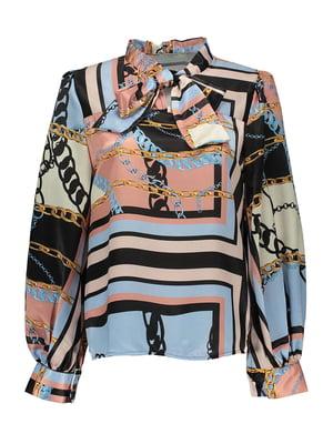 Блуза в принт   4958862