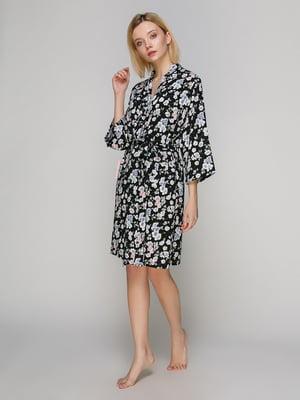 Халат в цветочный принт - BARWA garments - 4984033