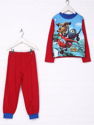 Пижама: лонслив и брюки | 4985174