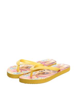 Вьетнамки желтые | 4985270
