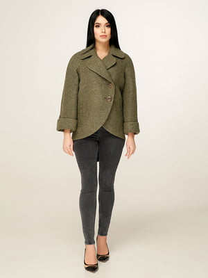 Пальто зеленое | 4979849