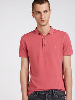 Футболка-поло рожева | 5010725