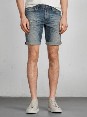 Шорти сірі джинсові | 5010748
