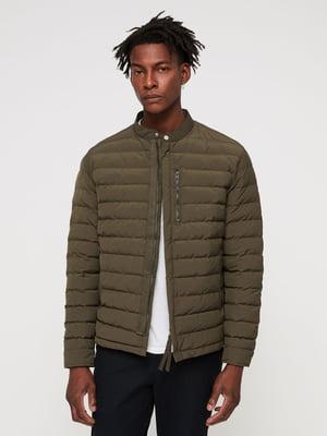 Куртка цвета хаки   5010768