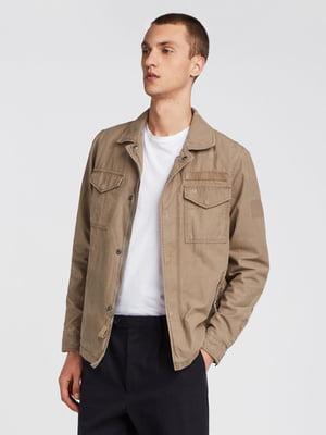 Куртка бежева | 5010770
