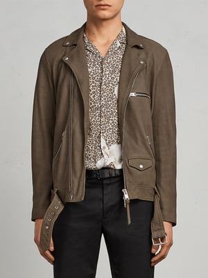 Куртка кольору хакі | 5010799