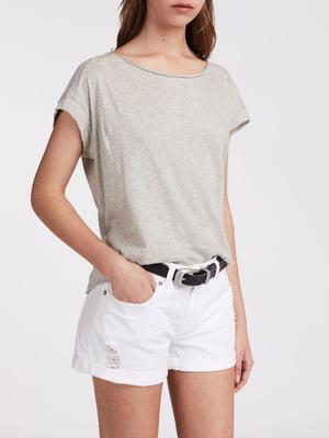 Шорты белые джинсовые | 5010902