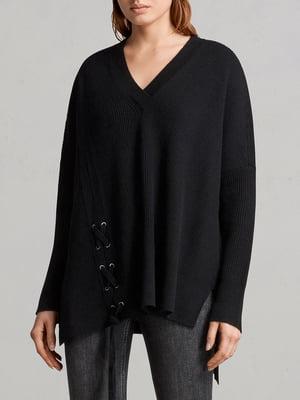 Пуловер черный | 5010943