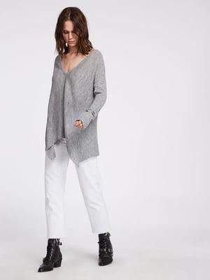 Пуловер серый | 5010956