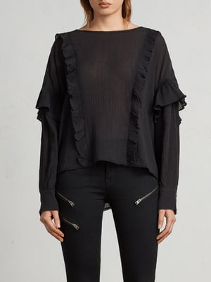 Блуза черная   5010976