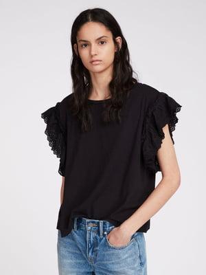 Блуза черная   5010995