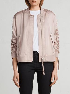 Бомбер рожевий | 5011012