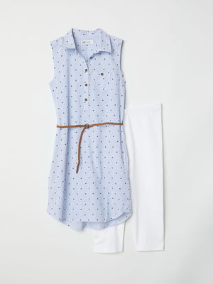 Платье в полоску и горох | 5011391