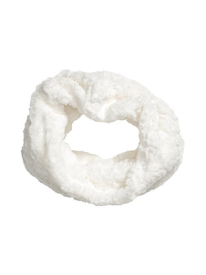 Шарф-хомут белый | 5011944