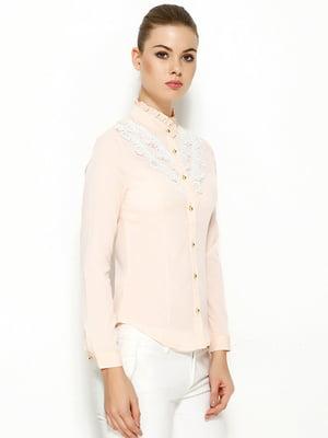 Блуза бежевая | 5013800