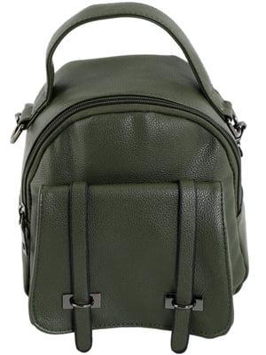 Рюкзак темно-зелений   5014316