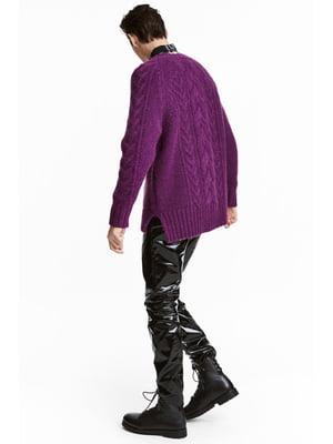Джемпер фиолетовый | 4982221