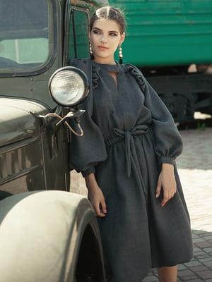 Платье серое | 5014457