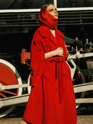 Пальто червоне | 5014495