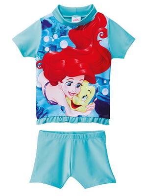 Комплект пляжный: футболка и шорты | 5015889