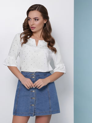Блуза молочного кольору   5016173