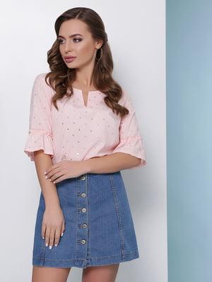 Блуза персикового цвета | 5016177