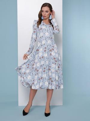 Платье в цветочный принт   5016180