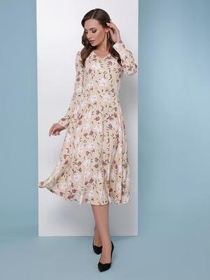 Сукня в квітковий принт | 5016181