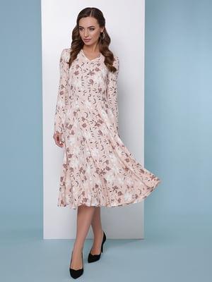 Платье в цветочный принт   5016183