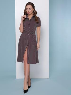 Сукня-сорочка в смужку | 5016184