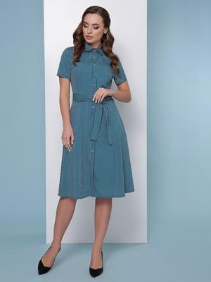 Сукня-сорочка в смужку | 5016185