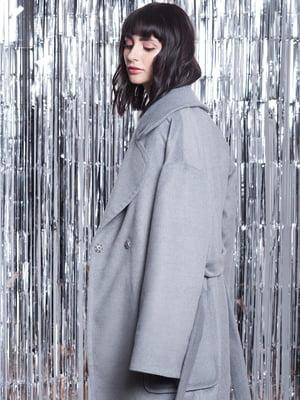 Пальто сіре | 5014607