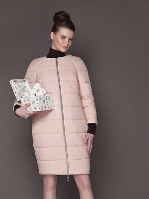 Пальто розовое | 5014738