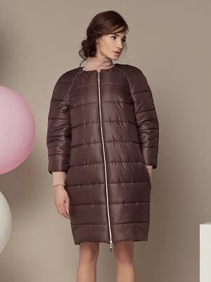 Пальто коричневое | 5014740