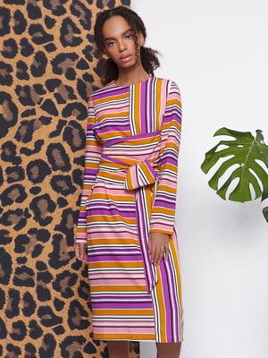 Платье в полоску | 5014586