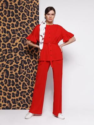 Блуза красная | 5014595