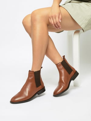 Черевики коричневі | 4981434