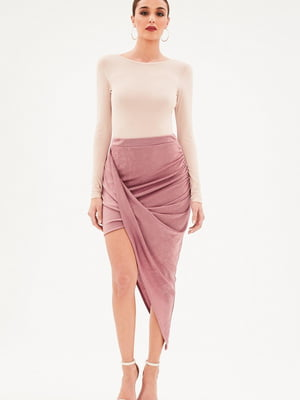 Юбка розовая | 4981499
