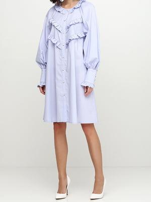 Платье голубое | 5014508