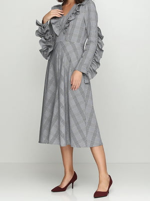 Платье серое   5014477