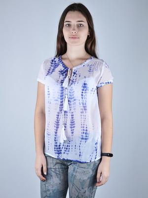Блуза в принт | 4597211