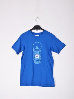 Футболка синяя - Columbia - 4863644