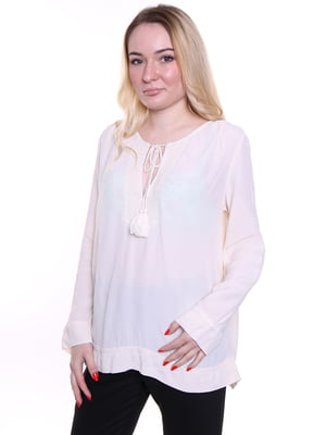 Блуза кремового цвета | 4971961