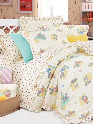 Комплект постельного белья в кроватку | 5012638