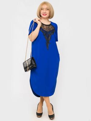 Платье цвета электрик | 4175397