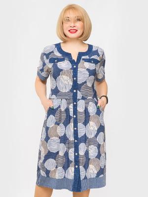 Сукня в принт | 5027218