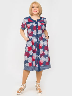 Платье в принт | 5027219