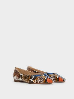 Туфлі анімалістичного забарвлення | 4980862